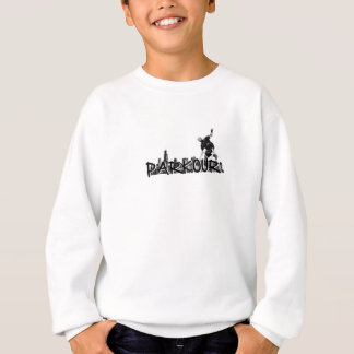 Parkour Traceur B&W Art Sweatshirt