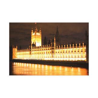 Parlament Leinwanddruck