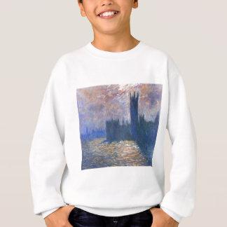 Parlament, Reflexionen auf der Themse Claude Monet Sweatshirt