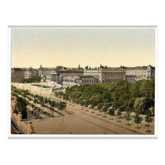 Parlament, Wien, Austro-Ungarn seltenes Photochrom Postkarte