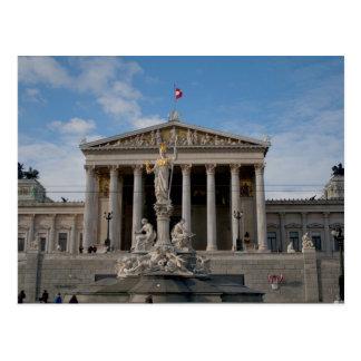 Parlament, Wien Österreich Postkarte