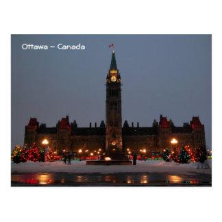 Parlaments-Gebäude, Ottawa Postkarte