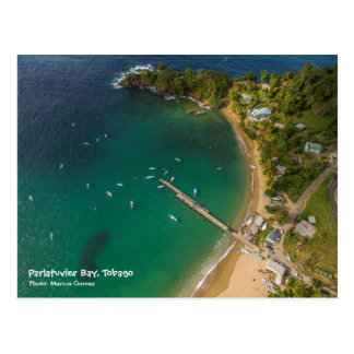 Parlatuvier Bucht - Reise Tobago W.I. Postkarte