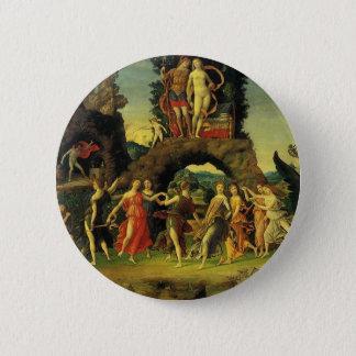 Parnassus, Mars und Venus durch Andrea Mantegna Runder Button 5,1 Cm