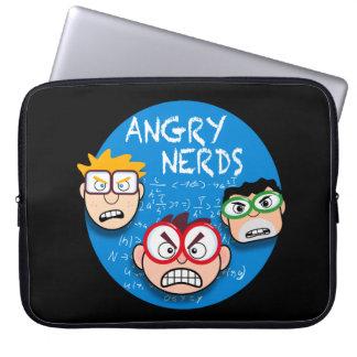 Parodie Ihres Lieblingstelefonspiels: Verärgerte Laptopschutzhülle