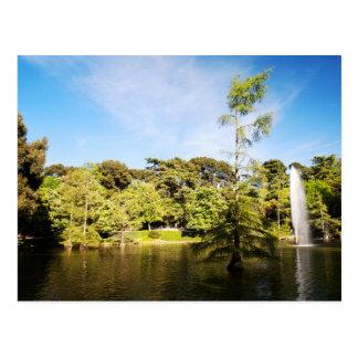 Parque Del Buen Retiro Postkarte