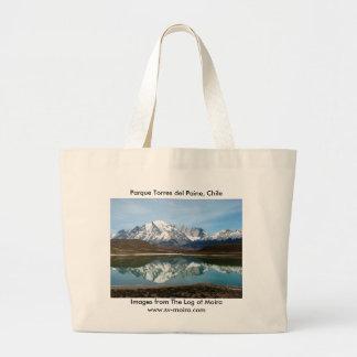 Parque Torres Del Paine, Chile Jumbo Stoffbeutel