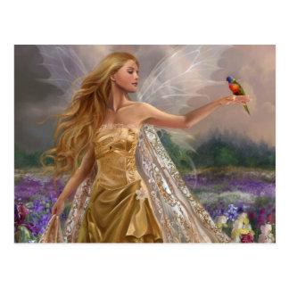 Parrot Fairy Postkarte