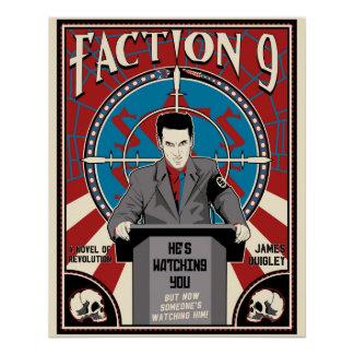"""Partei 9"" neues Plakat Poster"