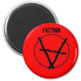Partei-Anarchie-Magnet Runder Magnet 5,1 Cm