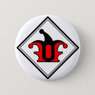 Partei des Dummkopf-Logo-Knopfes Runder Button 5,7 Cm