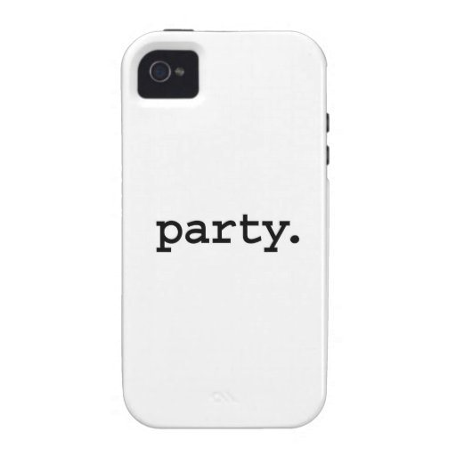 Partei Vibe iPhone 4 Cover