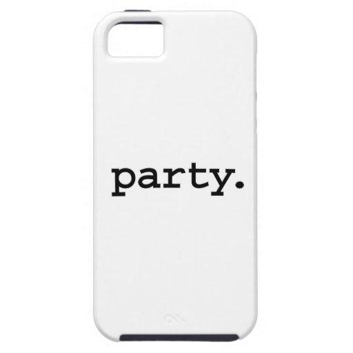 Partei iPhone 5 Hüllen
