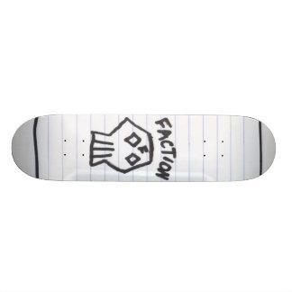 Partei-Notizbuch-Schädel Skateboardbrett