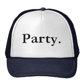 Partei Retro Cap