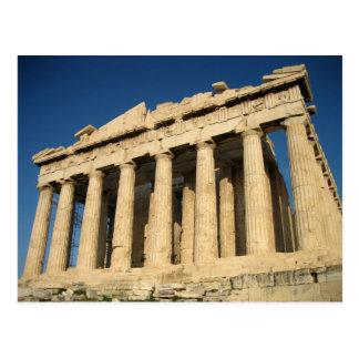 Parthenon-Akropolis in Athen Postkarte