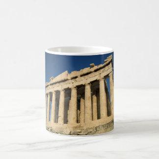 Parthenon-Akropolis in Athen Verwandlungstasse