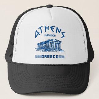 Parthenon - Athen - Grieche (blau) Truckerkappe