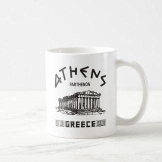 Parthenon - Athen - Grieche (Schwarzes) Kaffeetasse