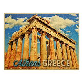 Parthenon Athens Griechenland Postkarte