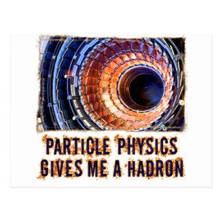 Partikel-Physik Postkarten