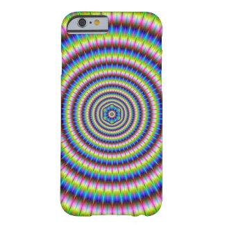 Partikel und Wellen mit Blumenmotiv Barely There iPhone 6 Hülle