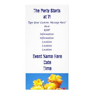 Party-beginnen mit 7! Kundenspezifische Einladungs Photo Karten