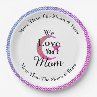 Party-Celebrations-Pink-Moon-Star_Monogram Pappteller