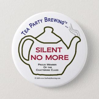 Party des Tee-TP0106 still nicht mehr Knopf Runder Button 7,6 Cm
