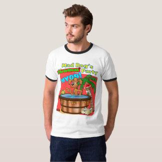 Party des wütender Hundes Weihnachts T-Shirt