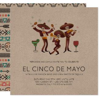 Party Einladung Cinco Des Mayo