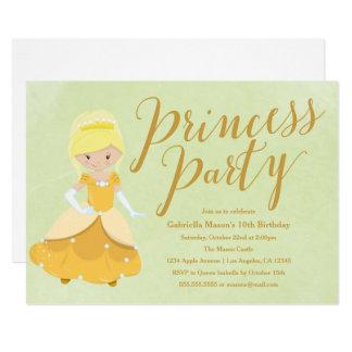 Party Einladung Prinzessin-Birthday -
