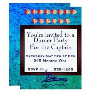 Party für den Kapitän Karte