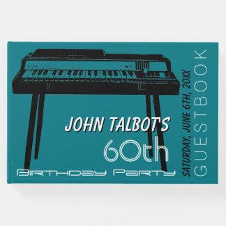 Party-Gast-Buch Geburtstag des alten Organs 60. Gästebuch