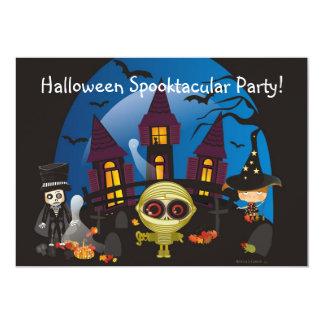Party Halloweens Spooktacular! Individuelle Ankündigskarten