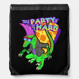 Party-harter Dinosaurier-Raubvogel 3 Tanzen Sportbeutel