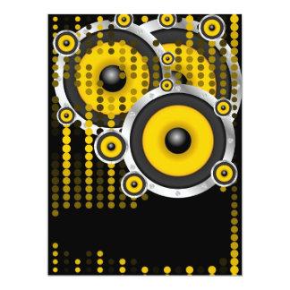 Party-Hintergrund 16,5 X 22,2 Cm Einladungskarte