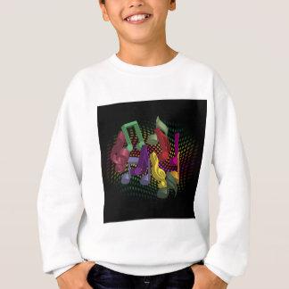 Party-Hintergrund Sweatshirt