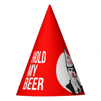 Party-Hut-Griff mein Clown Bier Justin Trudeau Partyhütchen