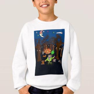 Party im magischen Baum-Holz Sweatshirt