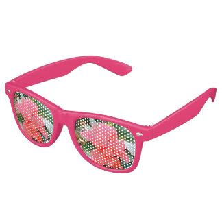 Party in den Blumen, heute Abend! Sonnenbrille