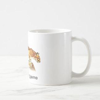 Party-Kacken des Pumas Kaffeetasse