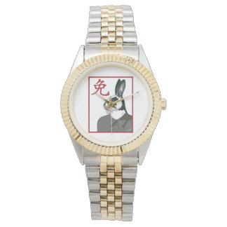 Party-Kaninchen Armbanduhr