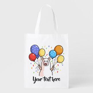 Party-Lama Wiederverwendbare Einkaufstasche