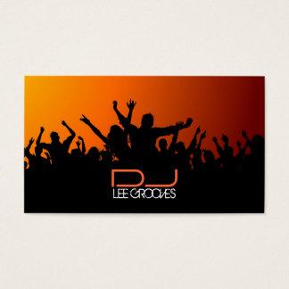 Party-Leute-Geschäfts-Karte Visitenkarten