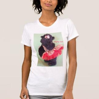 Party-Mädchen-Rosa T-Shirt