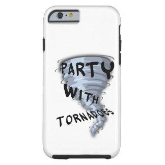 Party mit Tornados Tough iPhone 6 Hülle