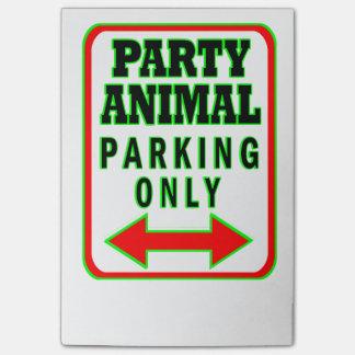 Party-nur Tierparken Post-it Klebezettel
