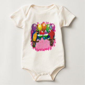 PARTY-PAPAGEIEN BABY STRAMPLER
