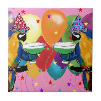 Party-Papageien Keramikfliese